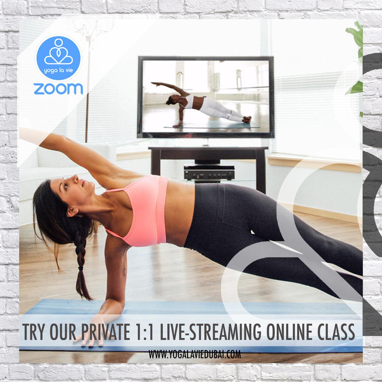 yogalaviedubai - 3 private classes packages